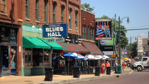 Memphis - the birthplace of many famous rock bands